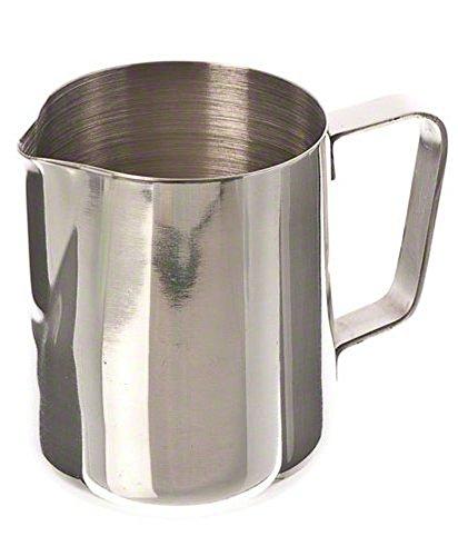 LAAT 200ml Milchkännchen Fancy Milk Edelstahl Milchkännchen Kaffee Aufschäumende Tee Milch Latte Krug Milch Aufschäumende Krug für Kaffee / Latte Aufschäumen Milch -