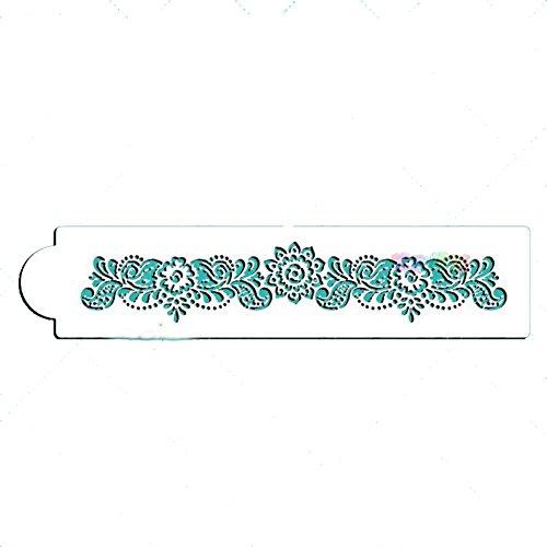 B & Y 5-26,9cm protezione ambientale fiore cintura fai da te torta stencil