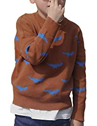 JYC Tops de Niña,Camiseta Manga Larga Niña,Chicos Chicas Bebé Niños Dinosaurio SuéteresSuave Calentar para niños Suéter Abrigos