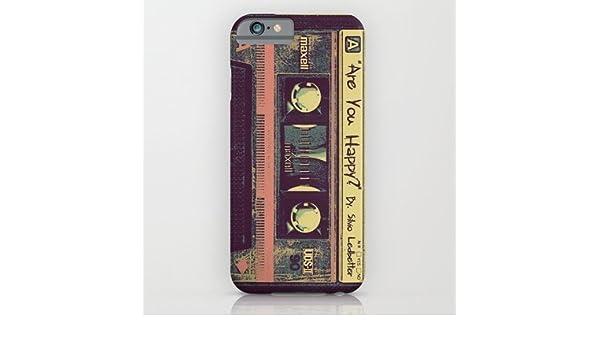 society6 are you happy? cassette tape iphone 6 case by silviosociety6 are you happy? cassette tape iphone 6 case by silvio ledbetter amazon co uk electronics
