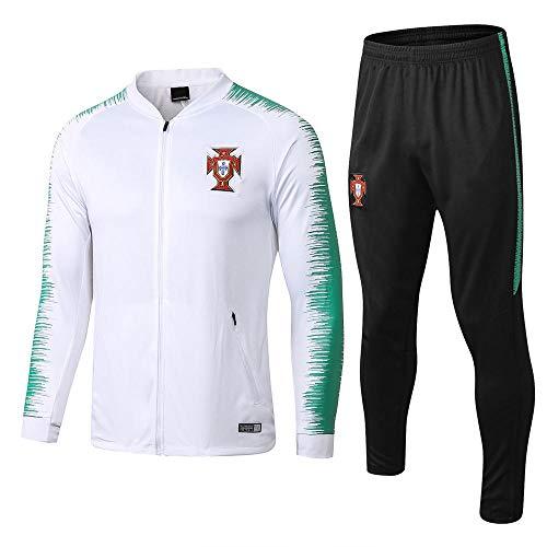 zhaojiexiaodian Fußballtraining Anzug Langarm Anzug Aussehen Service Fans Geschenk Ball Uniform Full Zipper @ 2_L -