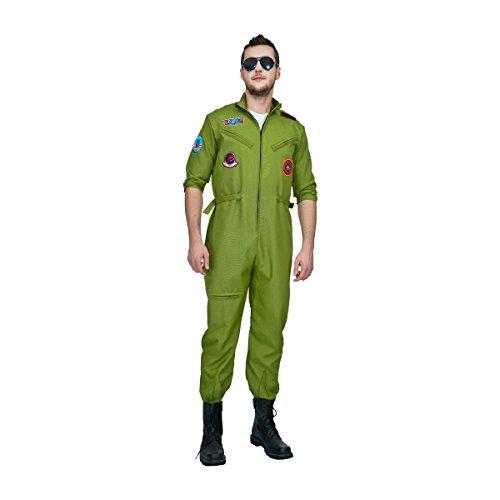 Sea Hare Männer Top-Gun-Flieger-Kostüm