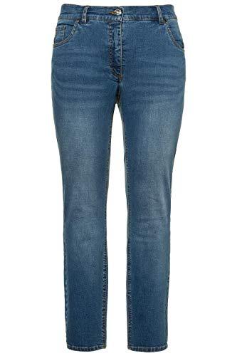 Studio Untold Damen, Basic Plus Size Skinny Jeans, Blau (Bleached 92), (Herstellergröße: 48) (Plus-size-skinny Jeans Für Frauen)