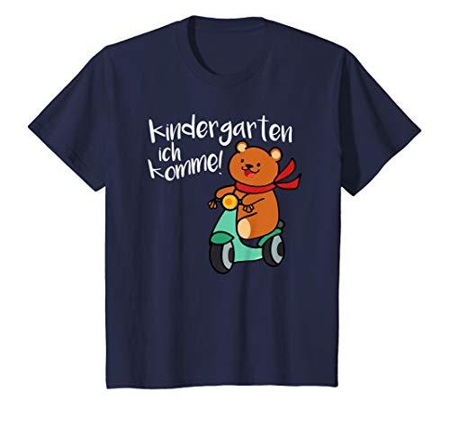 Kinder Kindergarten T-Shirt Start Anfang Geschenk Süßer Bär Roller