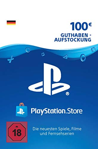 PSN Card-Aufstockung | 100 EUR | deutsches Konto | PSN Download Code