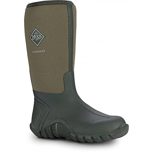 Muck Boot Edgewater Wellington Boots - Moss