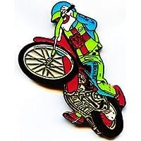 Speedway Wheelie Anstecknadel rarität