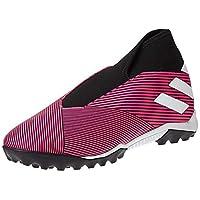 adidas Nemeziz 19.3 Turf Boots Men's Soccer Shoes, Pink, 9 UK (43 1/3 EU)