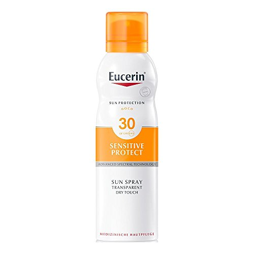 Eucerin Transparent Sun Spray Dry Touch LSF 30, 200 ml