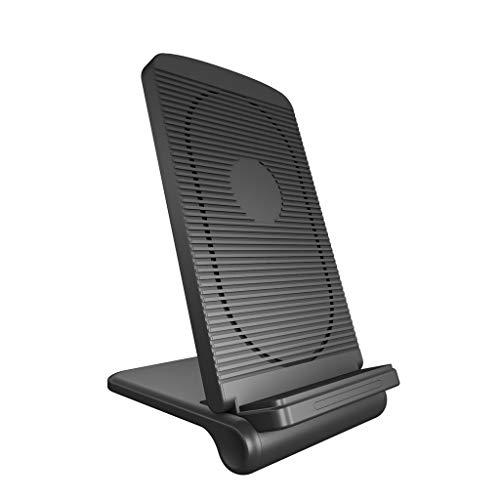 FiedFikt QI - Cargador inalámbrico para Samsung Galaxy y iPhone
