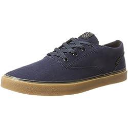Volcom Draw Lo Shoe, Zapatillas de Skateboard para Hombre, Azul (Navy Nvy), 43 EU