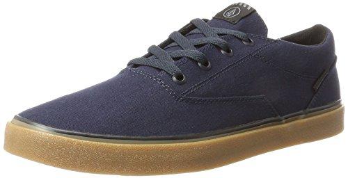 Volcom Harriet, Sneakers Basses Homme, Bleu (Navy), 44 EU