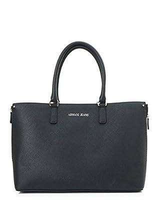 Armani Jeans Monaco Eco Leather Shopper Bag