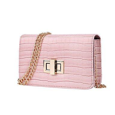Der einzelne Kette Frauen Taschen Pinky
