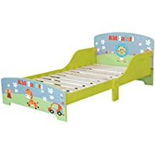 Safari per bambini, in legno, motivo: struttura letto singolo