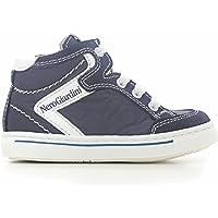 NERO GIARDINI-zapatillas deportivas, color gris, Suecia, doble cierre de velcro, diseño de exterior de caucho, para niño, pequeños, para niño, Gris - gris, 21