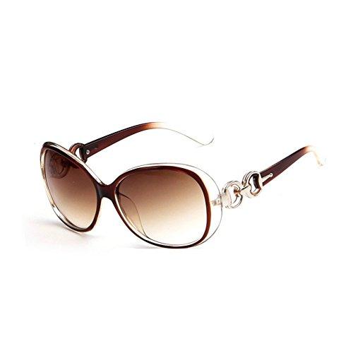 Westeng Frauen polarisierten Sonnenbrillen Dame Brillen mit großem Rahmen UV 400 Schutz für das Fahren/Angeln / Golf,Khaki
