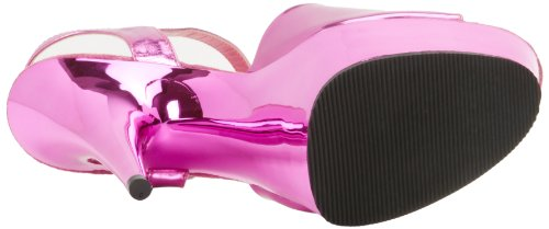 Pleaser EU-DELIGHT-609 DEL609/B/M, Sandali col tacco donna Hot Pink