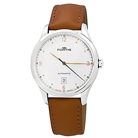 Fortis Tycoon Date automatique montre homme AM 903.21.12 L.28 Swiss Made Or rose