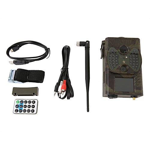 KinshopS Infrarot ausgelöst Aufklärung Full HD 5,0 MP Jagd Kamera Digital Trail Kamera Feld Infrarot Sensor Tag Nacht Kamera