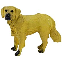 Golden Retriever Dog Figure Toys 3 Inch Realistically Detailed Animal Toy Figures Dog Replica Model - (1TNG148)