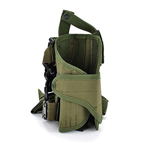 Mefly Multifunktionale Bein Pack'S Outdoor Taktische Beinbeutel Männer Links Und Rechts Bein Beutel Army green right leg