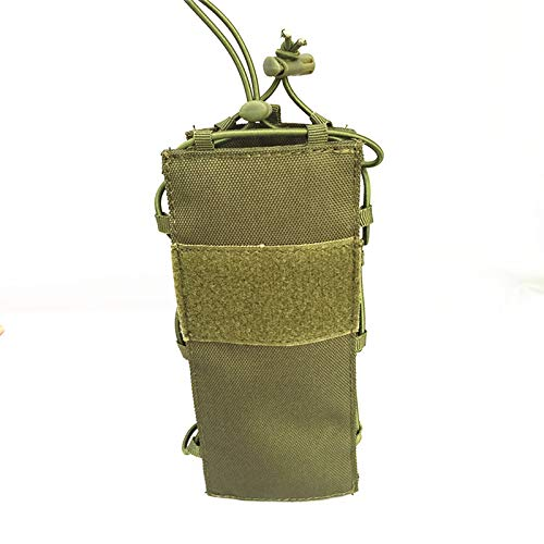 fbfa4a868122 HWZ Tactical Molle Water Bottle Pouch Nylon Canteen Cover Holster Outdoor  Travel Kettle Bag (Green)