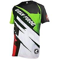 Uglyfrog Designs Bike Wear Hombres Ciclismo Jersey Downhill/MTB Motos, Accesorios y Piezas Camisetas
