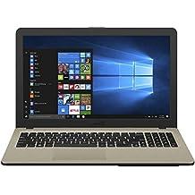 ASUS VivoBooK Intel Celeron N4000 15.6-inch Laptop (4GB/500GB HDD/Windows 10/Chocolate Black/2 Kg), X540MA-GQ024T