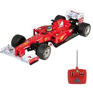 HSP Himoto Ferrari F2012-Coche RC controlado por radio (Original estilo)-Modelo Escala 1: 18Autorizado, listo para coche coche con mando a distancia,