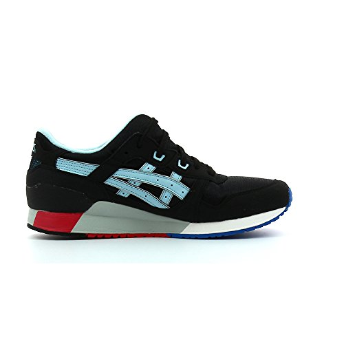 Asics Gel-lyte Iii Gs Unisex-Kinder Sneaker black/crystal blue