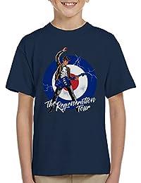 Cloud City 7 11th Doctor Who The Regeneration Tour Kid's T-Shirt