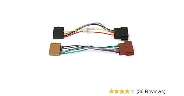 Watermark WM-4686 Autoradio Adapterkabel Universal ISO-Buchse auf ...