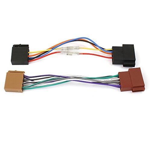 Watermark-WM-4686-Autoradio-Adapterkabel-Universal-ISO-Buchse-auf-ISO-Stecker