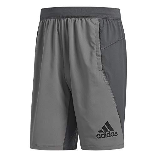 adidas 4krft Sport Woven 10-Inch Short Shorts, Herren L Grau (Grey Four f17/Grey six) - Mehr Woven Short