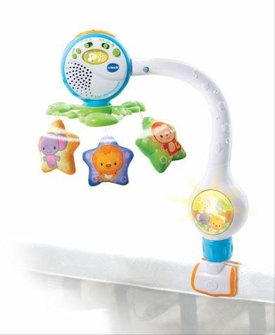 VTech Baby 80-503004 – 2-in-1 Melodienmobile, Kleinkindspielzeug