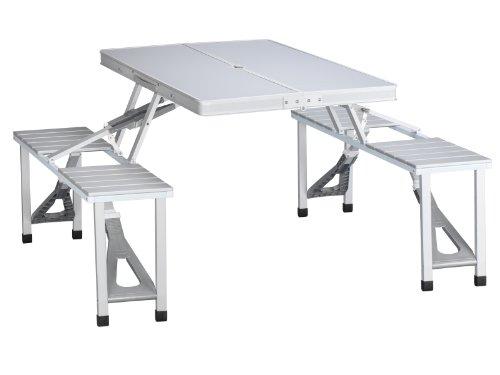 Tristar Table De Pique Nique Pliante Valise En Aluminium 4 Places Modele Ta 0820