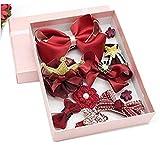 Haar Clips Haarspangen Haar Bögen Bobby Pin Haar Band Krawatte Haarnadeln Set Zubehör Werkzeug für Katzentoilette Mädchen Baby Kinder Kids Infant Kleinkind (grau)