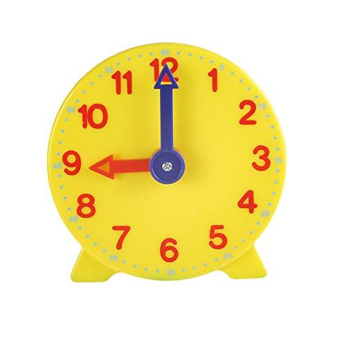 0Miaxudh Uhrenmodell, 10 cm, Modell mit Zwei Zeigern, Kinderkinderspielzeug, Lernressourcen für die frühe Bildung 2#