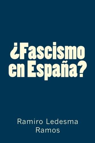 Descargar Libro ¿Fascismo en España? de Ramiro Ledesma Ramos
