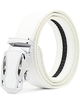 Katusi Hombre Automático Cinturón Cuero kts94