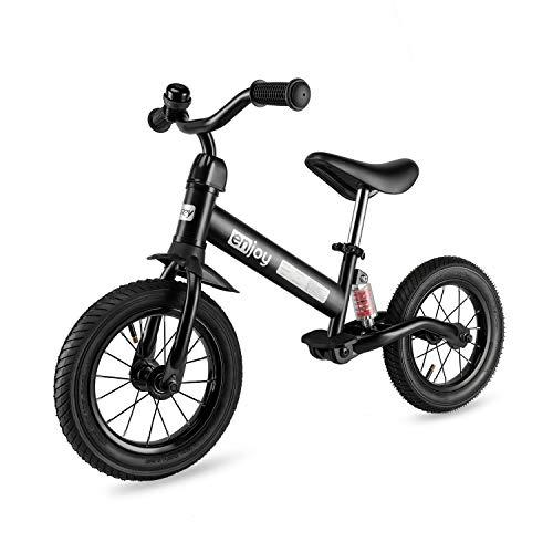 besrey Laufräder Laufrad für Kinder - 2, 3, 4 und 5 Jahre alt (Schwarz)