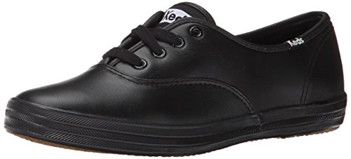 Keds Champion Damen Sneakers, Schwarz (Black), 43 EU