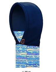 Inovey La Máscara De La Cabeza Termal Al Aire Libre De Los Niños Tapa Del Esquí A Prueba De Viento Doble Paño Grueso Y Suave Bufanda -Dark Blue