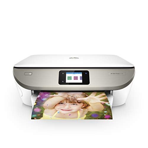 HP ENVY Photo 7134 Multifunktionsdrucker (Drucken, scannen, kopieren, Instant Ink, WLAN, Airprint) weiß