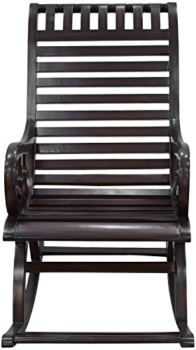 Ankita Furniture AF-10 Rocking Chair (Brown)