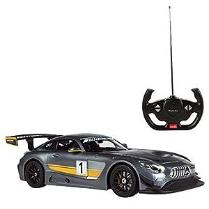 Rastar - Coche teledirigido Mercedes AMG GT3 Performance, Escala 1:14 (41221)