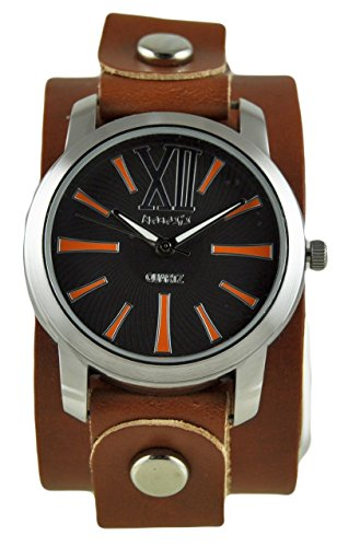 Nemesis Women's 065BGBKN Roman Series Analog Display Japanese Quartz Brown Watch