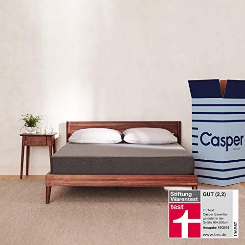 Die Casper Essential - 100 Nächte Probeliegen - Minimalistisches Design mit Maximaler Schlaffunktion 90 x 200