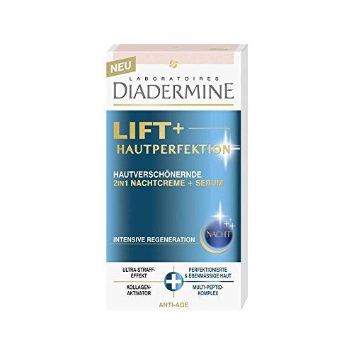 3er Pack DIADERMINE Lift+ Hautperfektion, 2in1 Nachtcreme + Serum / 3 x 50ml